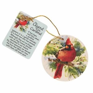 Other - Legend of the Cardinal Ornament Christmas nwt